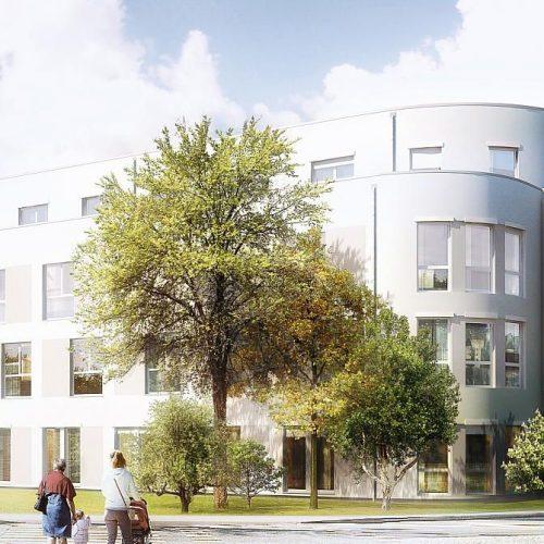 Pflegezentrum Pulheim - Pflegeimmobilie, Außenpanorama