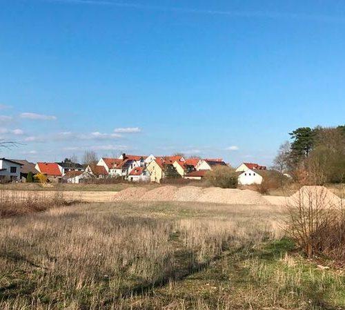 Blick auf das Baugrundstück Bad Gögging, hell und freundliche, tolle Stimmung, Pflegeimmobilien, stationäre Pflege