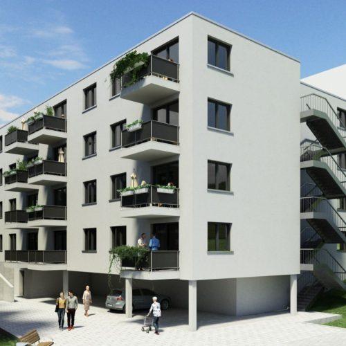 Untergeschossansicht Nad Bergzabern 2 II hell und freundlich Wohnpark Pflegeimmobilien Seniorenheim