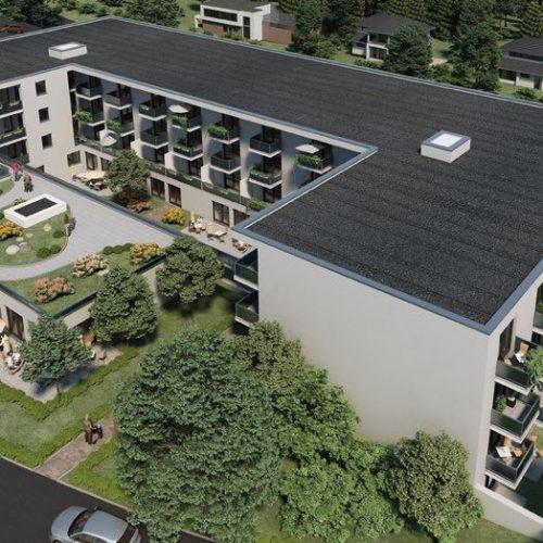 Seervicewohnen Pflegeheim Pflegeimmobilien Bad Bergzabern 2 II Gartensituation freundlich
