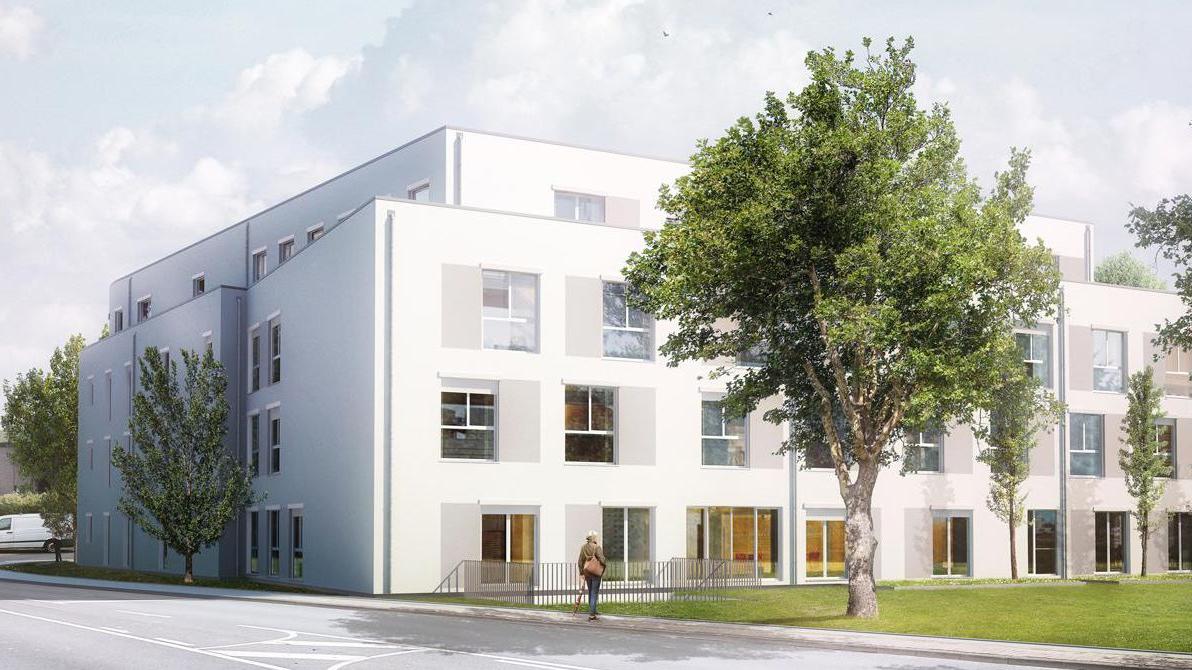 Pflegezentrum Pulheim - Pflegeimmobilie, Außenansicht